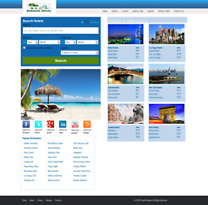 Automated Travel Search Engine Hotels Flights Booking Website Business For Sale
