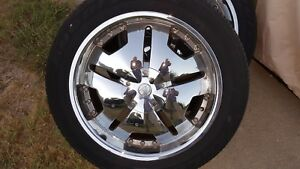 Velocity 20 Inch Rims Set Of 4 With Tires