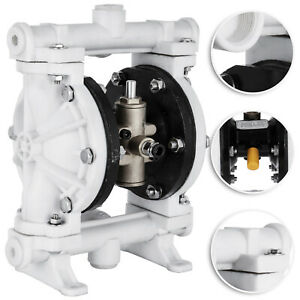 Air operated Double Diaphragm Pump Double Diaphragm 1 4in Air Inlet 13 Gpm