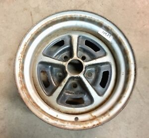 Ford Mopar 14x7 Factory Magnum Style 5 Spoke Mag Wheel Rim Single Spare J14923