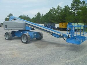 2008 Genie S60 Telescopic Boom Lift Deutz Diesel