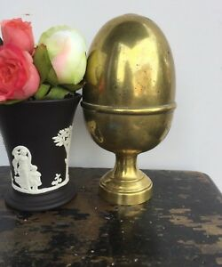 Antique English Brass Finial Newel Post Finial Architectural Salvage