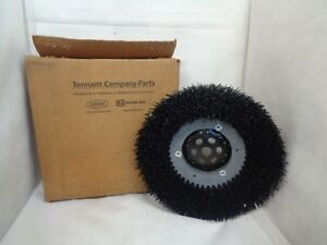 New Tennant 399247 Disk Brush Assembly 14 Inch Dia For T5 Polypropelene
