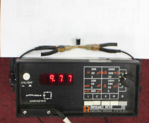 Esi Electro Scientific Industries 252 Impedance Lcr Esr Meter Tester