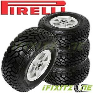 4 New Pirelli Scorpion Mtr Lt255 70r16 108q All Terrain Mud Tires