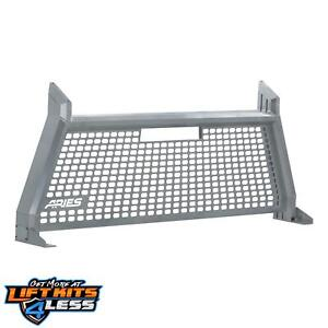 Aries 1110202 Chrome Powder Coat Advantedge Headache Racks For 09 18 Ford F 150