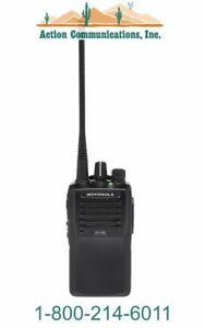 New Motorola Vx 261 d0 5 Vhf 134 174 Mhz 5 Watt 16 Channel Two Way Radio