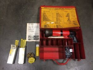 Hilti Dx600n Powder Actuated Fastener Install 27 Tool Accessories Case Lot