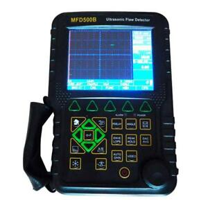 Graigar Mfd500b Portable Digital Ultrasonic Flaw Detector With Measurement Range