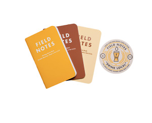 Rare Sealed Field Notes Drink Local Lagers Edition Fnc 20 3 pack Memo Notebook