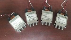Hp 8765a Rf Switch Dc 4ghz Option 024 100 Uks Lot Of 4