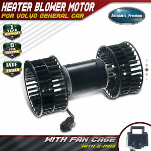 Hvac Heater Blower Motor With W Fan Cage For Volvo General Car Truck 351034171