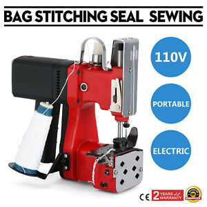 Electric Bag Sewing Machine Sealing Machines Portable Bag Stitching Tool On Sale