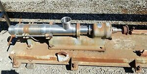 Moyno Positive Displacement Pump 4 Inlet And Outlet