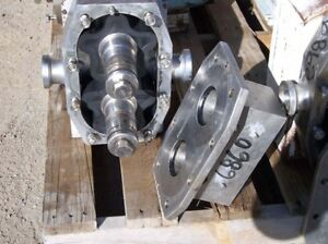 Apv Positive Displacement Pump S s Product Contact Rubber Rotors