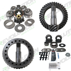 Revolution Gear Package 5 38 S W Master Kits For Jeep Tj Rubicon 03 06 D44 D44