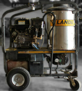 Used Landa Mvc4 Gas diesel 4gpm 3500psi Hot Pressure Washer