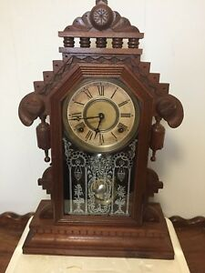 Gilbert Lebanon Walnut Parlor Clock