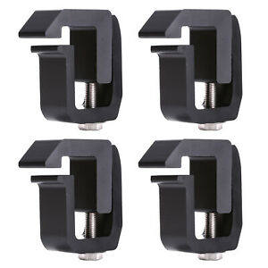 4 Pcs Truck Cap Camper Shell Mounting Clamps Chevy Gmc Dodge Ford F150 250 350