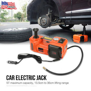 12v 5t 3 in 1 Auto Car Electric Hydraulic Floor Jack Lift And Impact Wrench