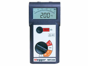 Megger Mit200 en Insulation And Continuity Tester 500v