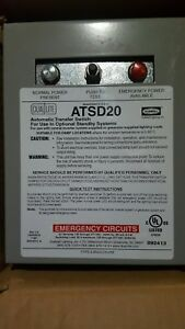Dual lite Atsd20 20 Amp Auxilary Transfer Switch