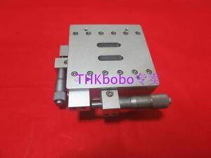 Thk 2 Axis Xy Manual Positioning Stage size 90mm X 90mm travel 13mm X 13mm u04f