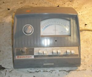 Expanded Scale Ph Meter Beckman Instruments Mdl 76