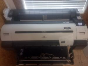 Canon Ipf760 Imageprograf Large Format 36 Color Plotter read Description