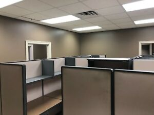 Used Office Cubicles Bought About A Year Ago For 10 550 Moving Office Need Go