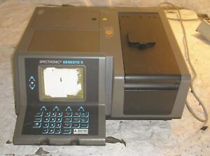 Spectronic Genesys 5 Spectrophotometer Works But Sticker On Screen