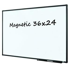 Lockways Magnetic Dry Erase Board Whiteboard 36 X 24 White Board 3 X 2 Ultr