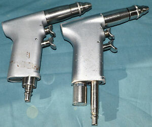 Synthes Swiss 511 11 Pneumatic Surgical Air Drill Dual Trigger Set Of 2 Tested