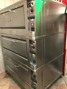 Blodgett Electric Triple Stack Commercial Pizza Oven
