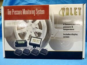 New Valet 400 Tire Pressure Temperature Monitoring System Tpms Vehicle Kit