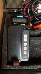 Midtronics Micro Celltron Battery Analyzer With Printer Tested Good 6
