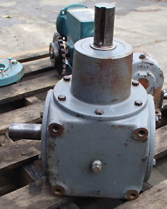 Hub City Right Angle Bevel Gear Drive 1 1 Ratio Model 800 Style De Used Take Out