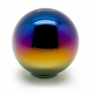 Blox Racing 490 Limited Series Spherical Shift Knob 10x1 25 Neo Chrome