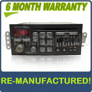 Remanufactured 1996 2002 Gmc Pontiac Grand Prix Firebird Radio And Cd Player