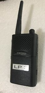 Motorola Radius Sp21 Vhf 1 Channel 2 Watt Radio 151 159 Mhz