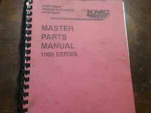 Kmc Ft 180 220 Skidder Parts Manual