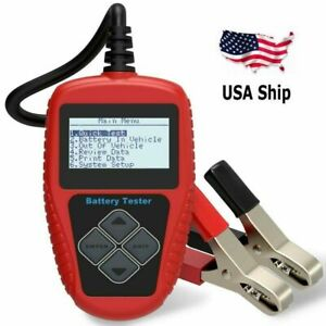 Usa Shipping Quicklynks Ba101 12v Automotive Vehicle Battery Analyser Tester