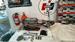 Hurst Indy 4 Speed Shifter Kit 1965 73 Ford Mustang Merc Cougar Sb Top Loader