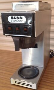 Bunn Pour omatic 3 Burner Station Coffee Maker Model S By Bunn o matic