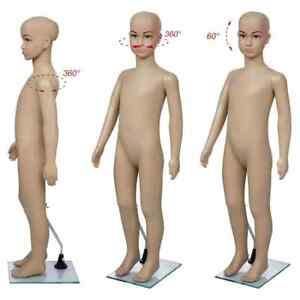 Child Kid Mannequin Full Body Standing Display W Base Dummy Shop Dressmaker