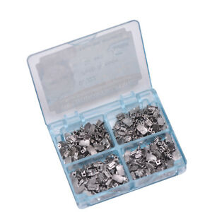 200pcs New Dental Orthodontic Buccal Tube Split Welding 1st 2nd Molar Roth