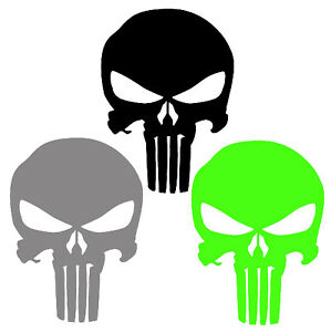 Punisher Sticker Buy 1 Get 1 Free Every Quantity Punisher Decal