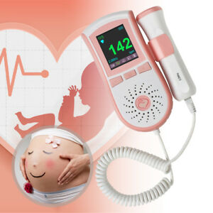 Usa Medical Fetal Doppler 2 Mhz Probe Ultrasound Prenatal Baby Heart Monitor Fda