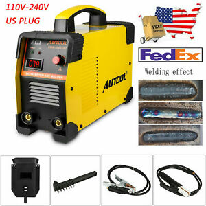 110v 160a Inverter Welding Machine Arc Welder Electric Aluminium Metal Tool Us