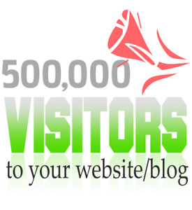 500 000 Visitors To Your Website blog